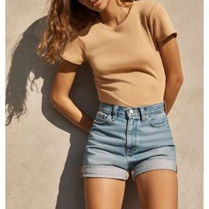 Urban Outfitters high waisted jean shorts!